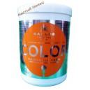 Kallos маска для волос с льняным маслом и УФ фильтром Color (1 л.) Венгрия