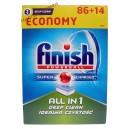 Finish All-In-One средство для мытья посуды в посудомоечной машине Powerball (100 шт) Венгрия