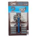 Cien мужской cтанок для бритья  Shaving System + 20 кассет Германия