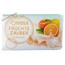 Ombia крем мыло апельсин и персик Fruchtezauber (150 г) Германия