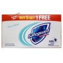 Safeguard мыло антибактериальное Pure White (6 шт.по 80 грамм) Бельгия
