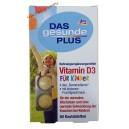 Denkmit Витамин D3 детские жевательные таблетки (60 шт) Германия