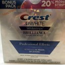 Crest 3D White отбеливающие полоски Brilliance Professional Effects (поштучно) USA