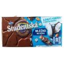 Studentska шоколад молочный с кокосом и орехами (180 г) Чехия