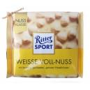 Ritter Sport белый шоколад с цельными лесными орехами (100 г ) Германия