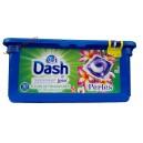 Dash 2в1 капсулы для стирки Frangipani Beads (30 кап) Италия