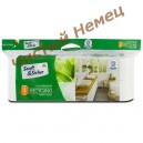 Sanft&Sicher туалетная бумага Toilettenpapier Recycling 4-х слойная ( 10 рул. x 160 отр.) Германия