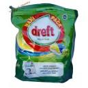 Dreft All in One капсулы для посудомоечной машины Citron (34 шт.) Германия