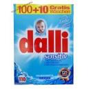 Dalli Sensitive стиральный порошок (7.15 кг-110 ст.) Германия