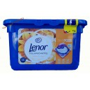 Lenor 3в1 капсулы для стирки Silk Orchid (14 шт.) Италия