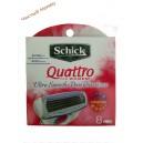 Schick Quattro (8) зап.Жен