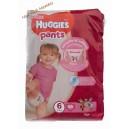 Huggies трусики для девочек 6 (15-25 кг) 36 шт Mega