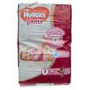 Huggies трусики для девочек 3 (6-11 кг) 58 шт Mega