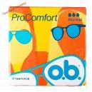 O-B тампоны ProComfort (8 шт) Normal 3 кап.