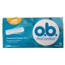 O-B тампоны ProComfort (16 шт) Normal 3 кап.оранж