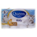 Queen туалетная бумага 2 сл (8 шт)