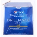 Crest полоски Brilliance (32 шт) отбелив USA синяя коробка