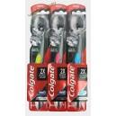 Colgate зубная щетка 360 (1 шт) черная с углем