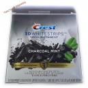 Crest полоски отбеливающие 3D White (28) + сыворотка уголь