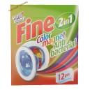 Well done салфетки антилинька (12 шт) Color magnet 2 в 1 Antibacterial