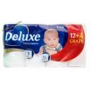 Deluxe бумага туалетная (3-х сл.-16 рул.)