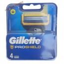 Gillette ProShield (4 шт) запаски